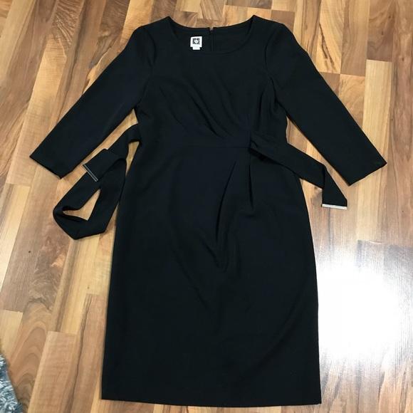**Reduced**Anne Klein Black Dress Sz 6